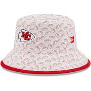 Kansas City Chiefs New Era Toddler Cutie Bucket Hat - White