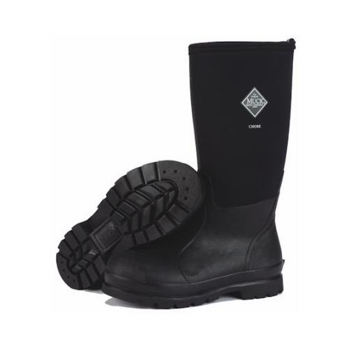 Muck Boot CHH000A-11 Chore High Work Boots, Black, Unisex...