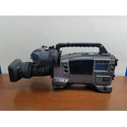Refurbished Panasonic AJ-D610WBp Professional Camcorder with Canon YJ19X9B4 Lens