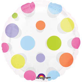 Polka Dot Balloon (each) - Party Supplies