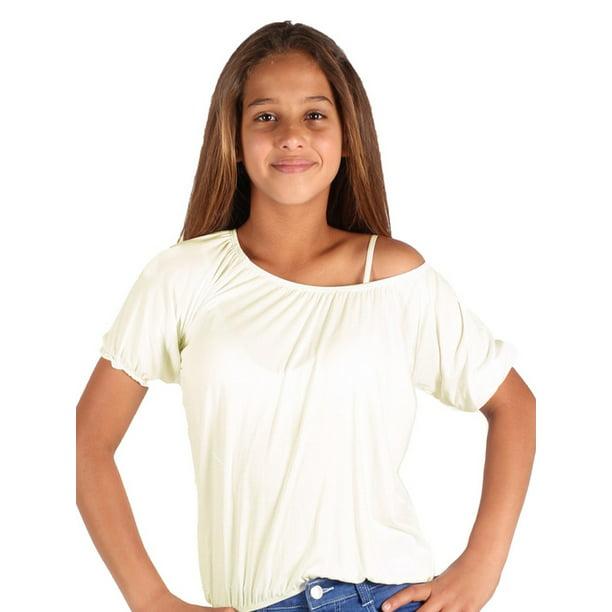 Lori & Jane - Lori & Jane Girls Ivory Short Sleeve Summer ...
