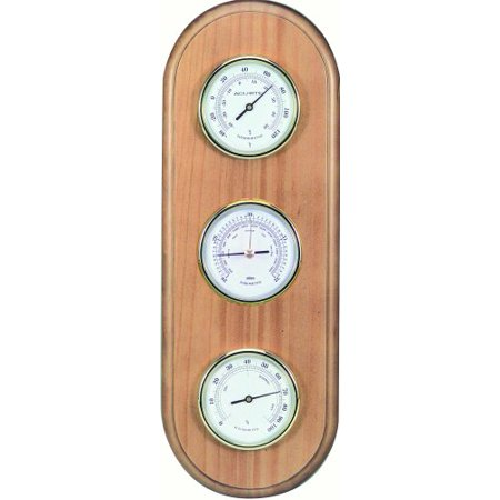 Acurite Tahoe Honey Pine Weather Station 01523 - Wall Mountable