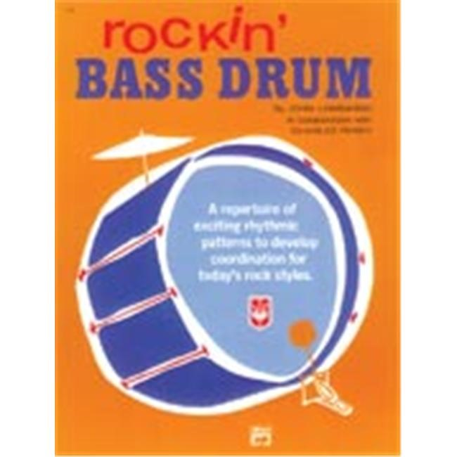 Alfred Publishing 00-134 Rockin Bass Drum - Music Book