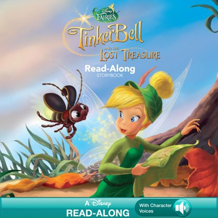 Tinker Bell and the Lost Treasure Read-Along Storybook - - Tinkerbell Storybook