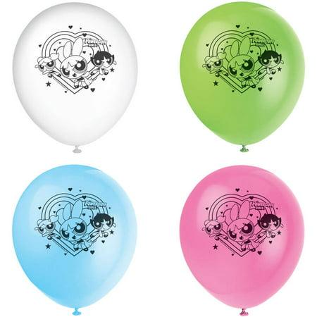 Girls In Latex (Latex Powerpuff Girls Balloons, 12 in, Assorted,)