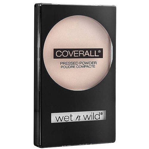 Wet n Wild Cover All Pressed Powder, Light 823B, 0.26 oz