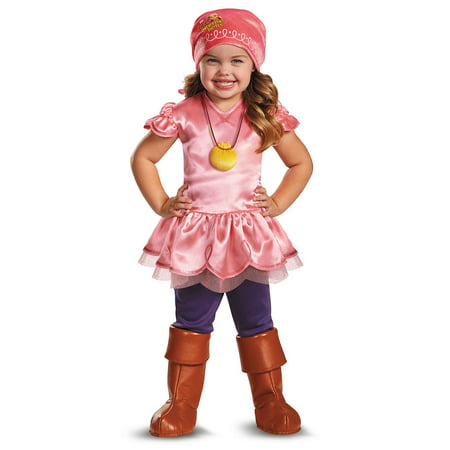 Child Disney Jake and the Never Land Pirates Izzy Deluxe Costume by Disguise 56727 - Jake The Pirate Costume