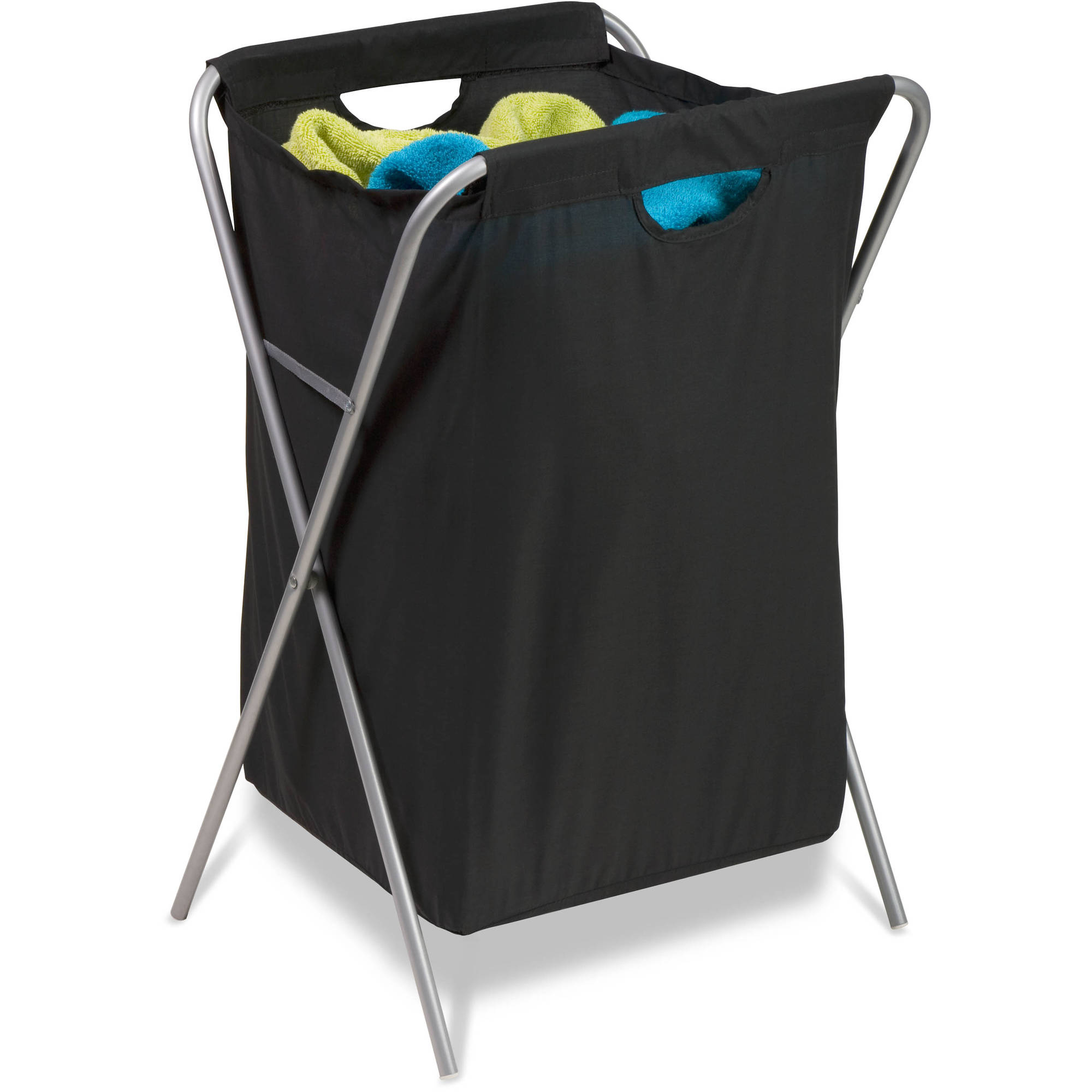 Honey Can Do Folding Nylon Hamper with Steel Frame and Washable Bag by HONEY-CAN-DO INTERNATIONAL LLC