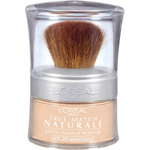 L'Oreal Paris True Match Naturale Gentle Mineral Makeup Foundation, Natural Buff