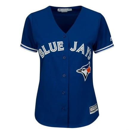 Ladies' Marcus Stroman Toronto Blue Jays Cool Base Replica Away Jersey - image 2 of 2