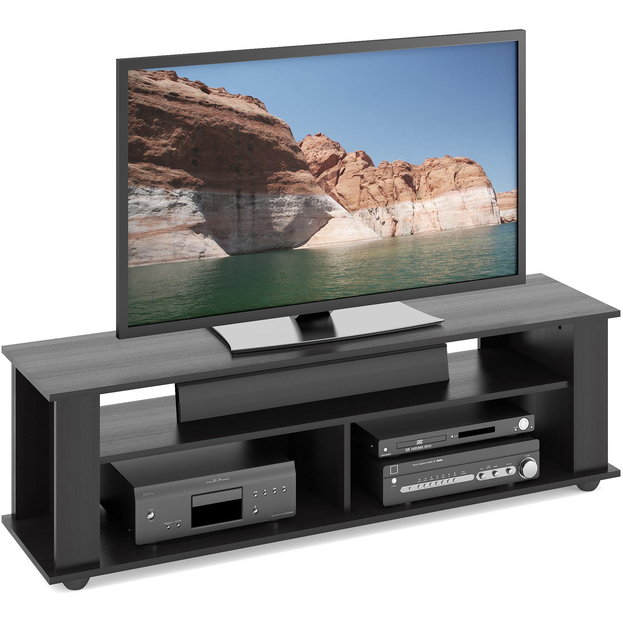 CorLiving Bakersfield Ravenwood Black TV Stand for TVs up to 65