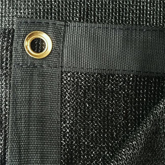 Xtarps UMN-MS90-B1620 16 x 20 ft. Premium 90 Percent Shade Cloth, Shade Sail & Sun Shade - Black