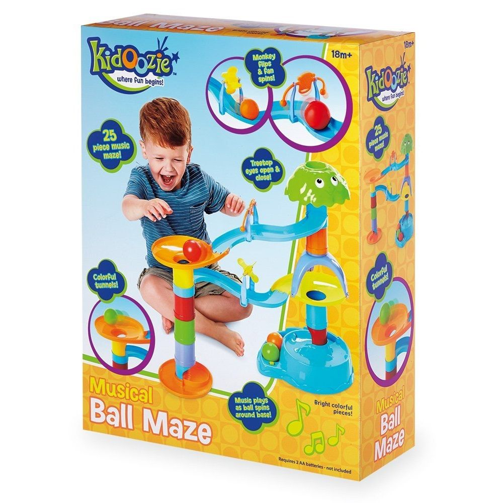 International Playthings Kidoozie Musical Ball Maze by Kidoozie