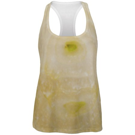 Halloween Yellow Sweet Onion Costume All Over Womens Work Out Tank Top](Work Halloween)