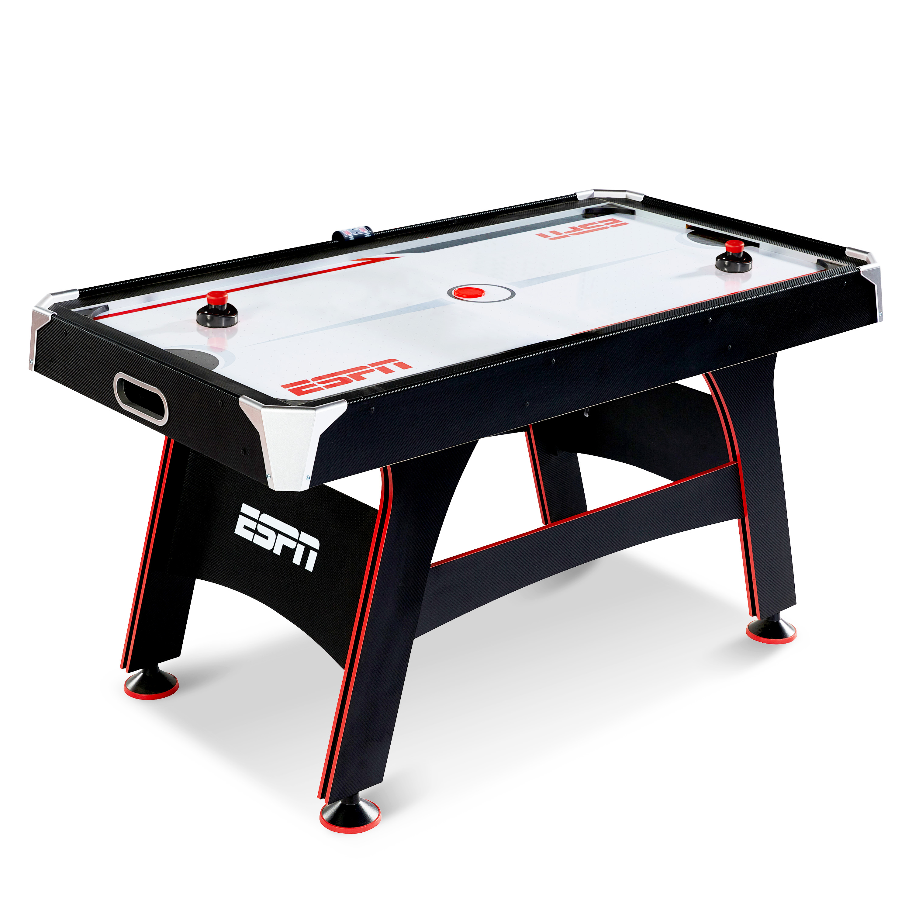 ESPN 5 FT. AIR POWERED HOCKEY TABLE WITH LED ELECTRONIC SCORER