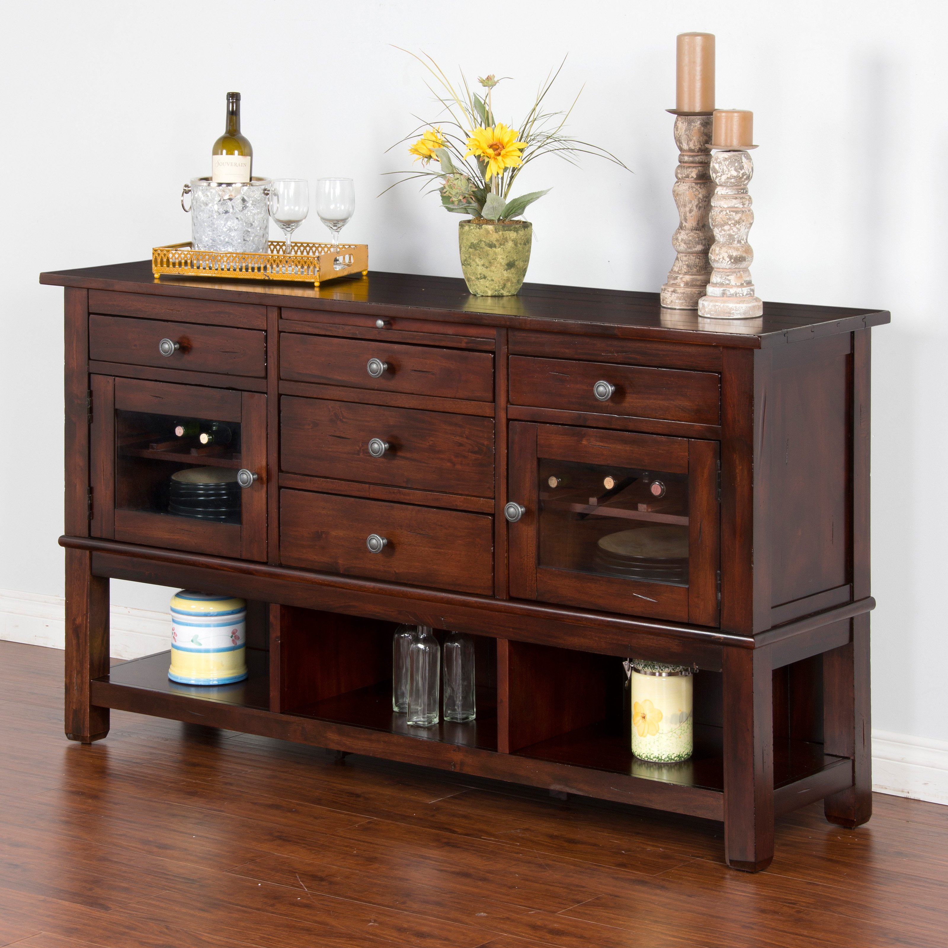 Sunny Designs Vineyard Buffet Server