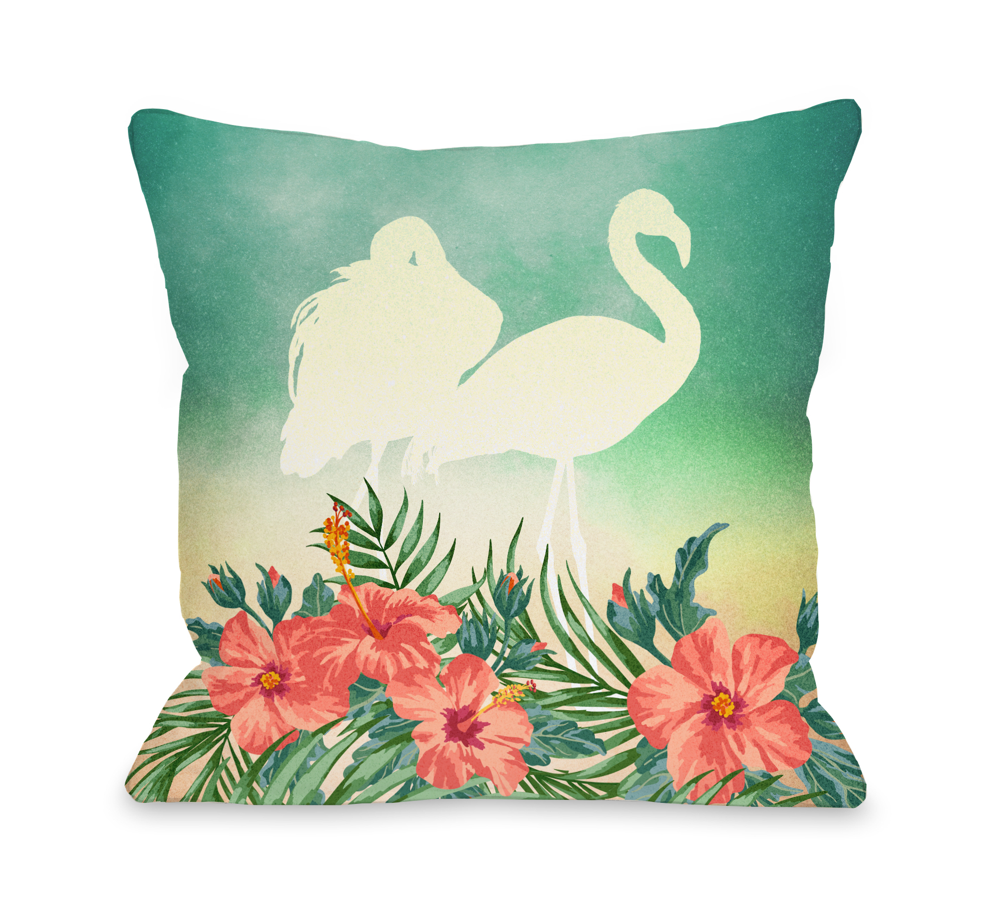 Meigan - Multi 16x16 Pillow by OBC