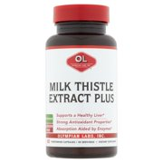 Olympian Labs Milk Thistle Extract Plus Vegetarian Capsules, 60 count