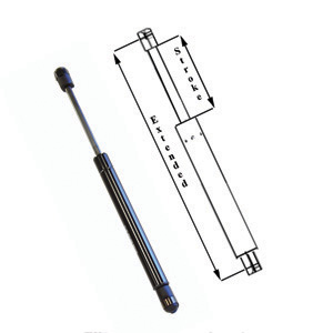 "AP Products 010-254 16"" 28# Gas Spring"
