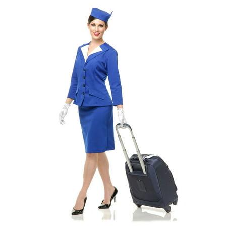 Air Stewardess Halloween Costume (Halloween Stewardess Adult)