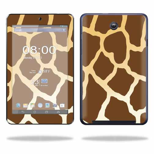 Mightyskins Protective Skin Decal Cover for Asus MeMO Pad HD 7 Tablet wrap sticker skins Giraffe