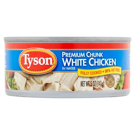 Tyson Premium Chunk White Chicken In Water 5 Oz