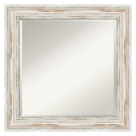 Image of Alexandria Whitewash Wall Mirror