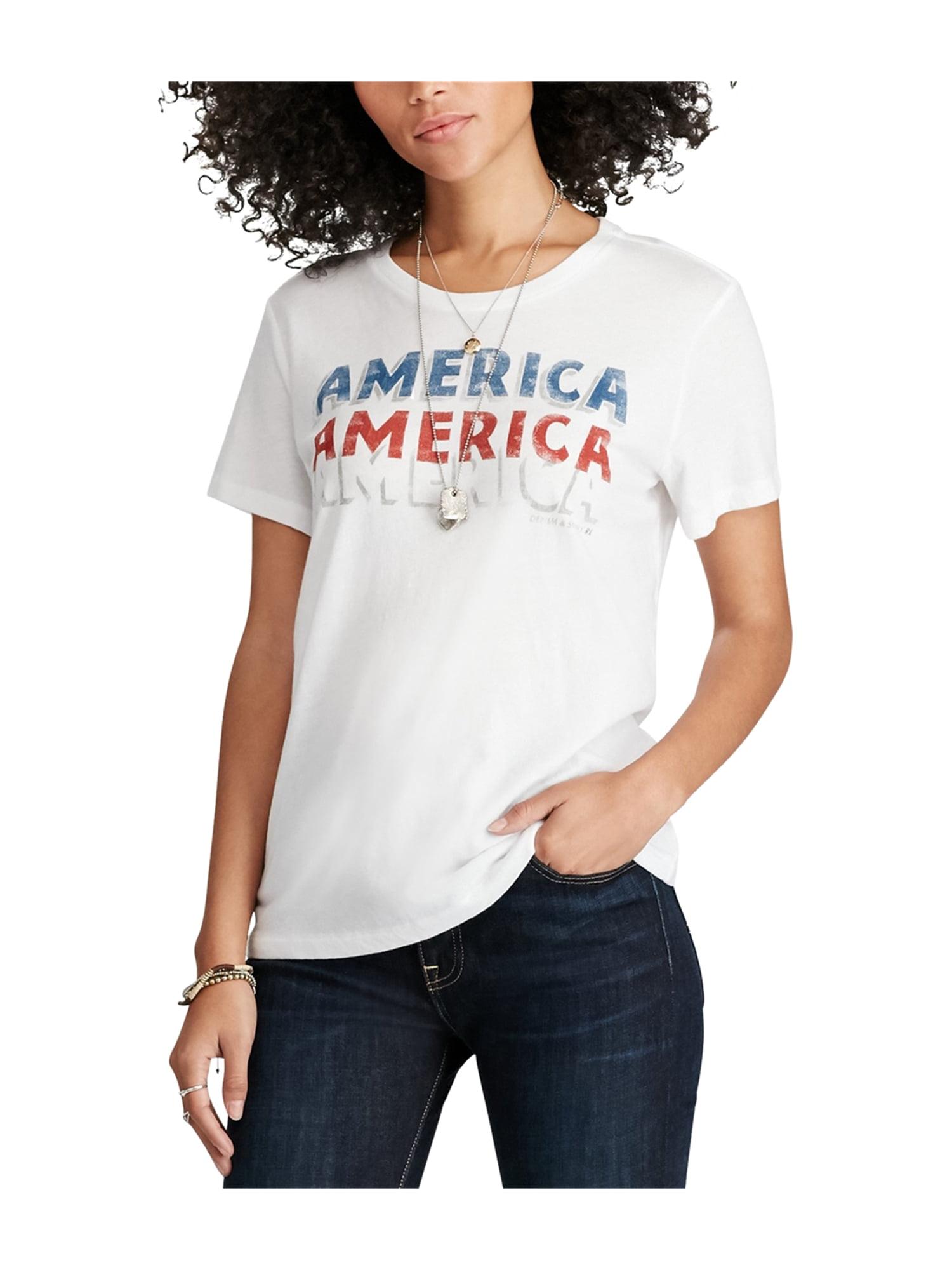 bc206e2b Ralph Lauren Womens Jersey Graphic T-Shirt white XL
