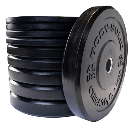 Body Solid OBPX260 Chicago Extreme Bumper Plate Set - 260