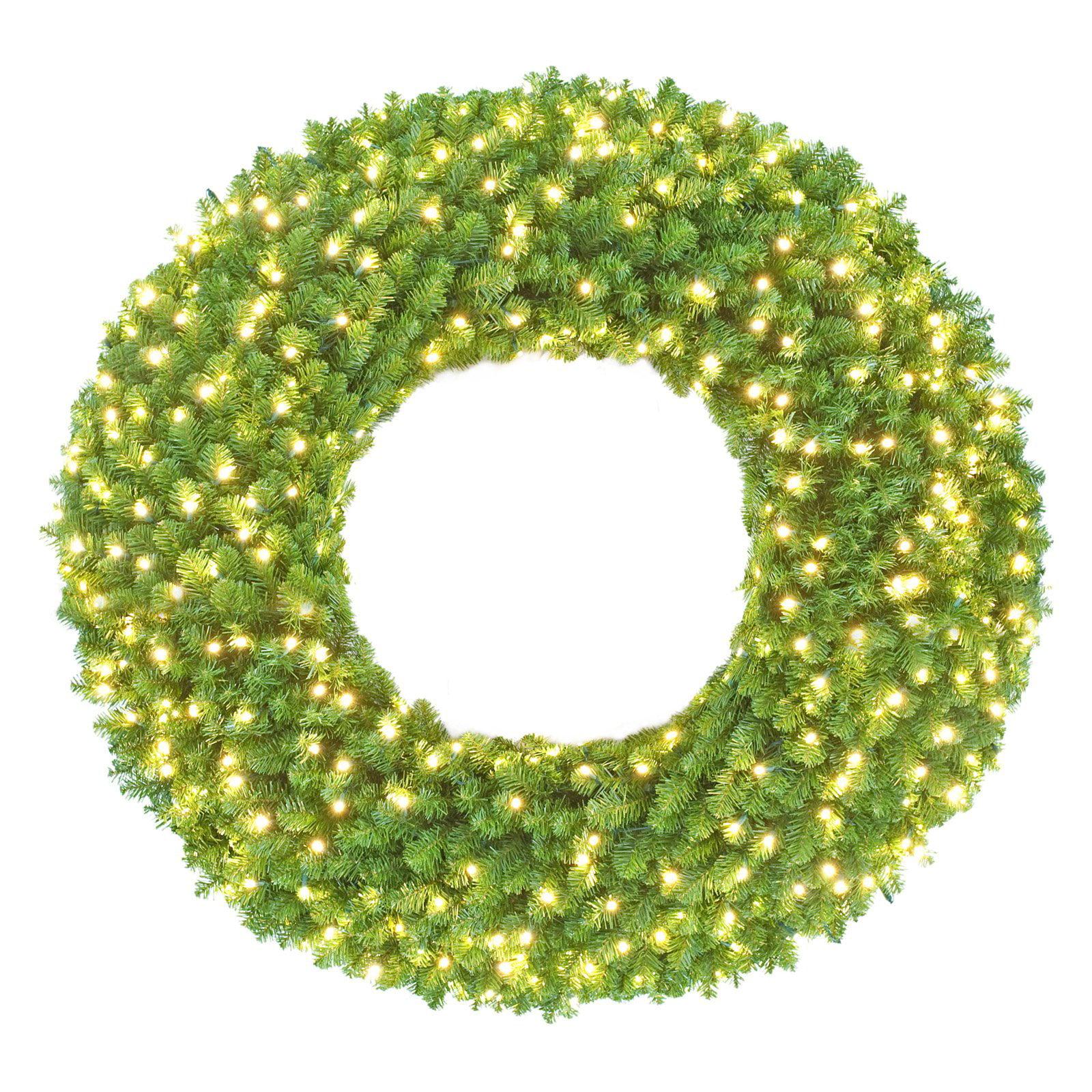 Sequoia Pre-Lit LED Christmas Wreath