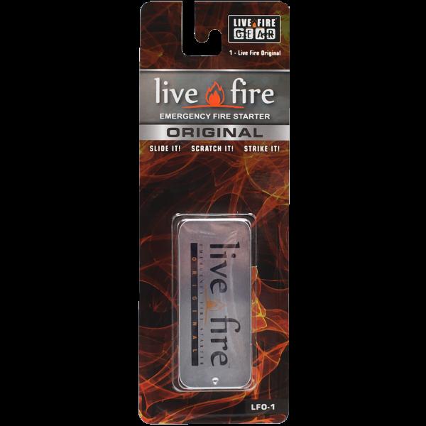 Live Fire Original Emergency Fire Starter by Live Fire Gear
