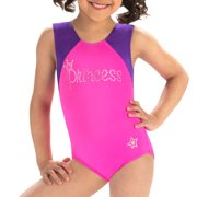 GK Stars by GK Elite Sparkling Princess Tank Gymnastics Leotard, Sizes 4-16