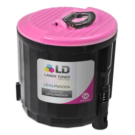 LD Compatible Replacement CLP-M300A Magenta Laser Toner Cartridge for use in Samsung CLP-300, CLP-300N, CLX-2160, &