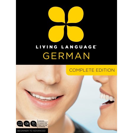 Living Language German, Complete Edition : Beginner through advanced course, including 3 coursebooks, 9 audio CDs, and free online (Learn Pashto Language)