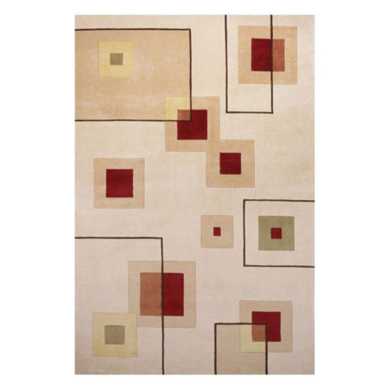 Momeni New Wave Squares Area Rug