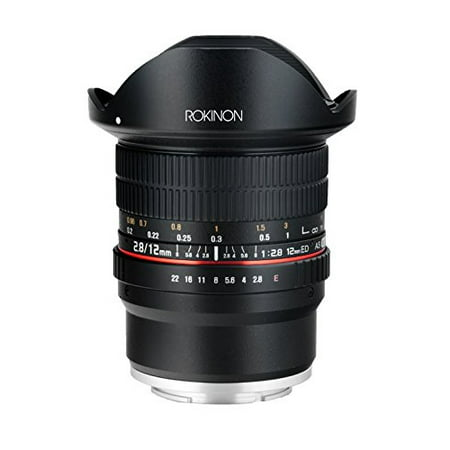 Rokinon 12mm f/2.8 ED AS IF NCS UMC Fisheye Lens for Sony E-Mount 12mm Lens Bullet Housing