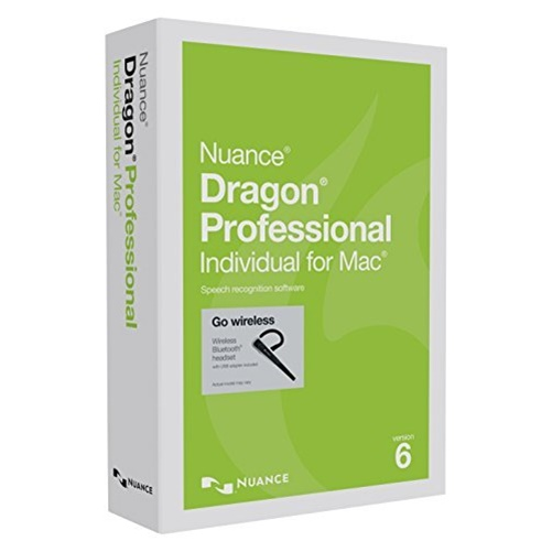 Nuance Dragon Professional Individual for Mac with Bluetooth Headset