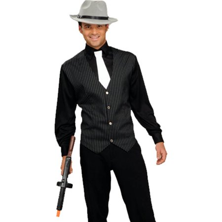 Gangster Shirt, Vest & Tie Costume Kit