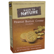 (3 Pack) Back to Nature Cookies Peanut Butter Creme