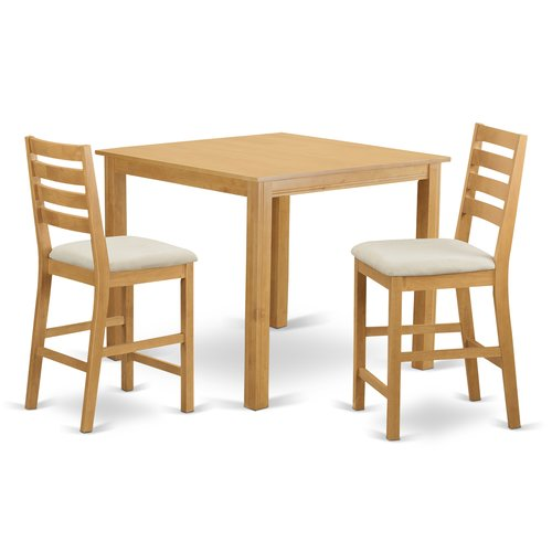 Wooden Importers Caf  3 Piece Counter Height Dining Set