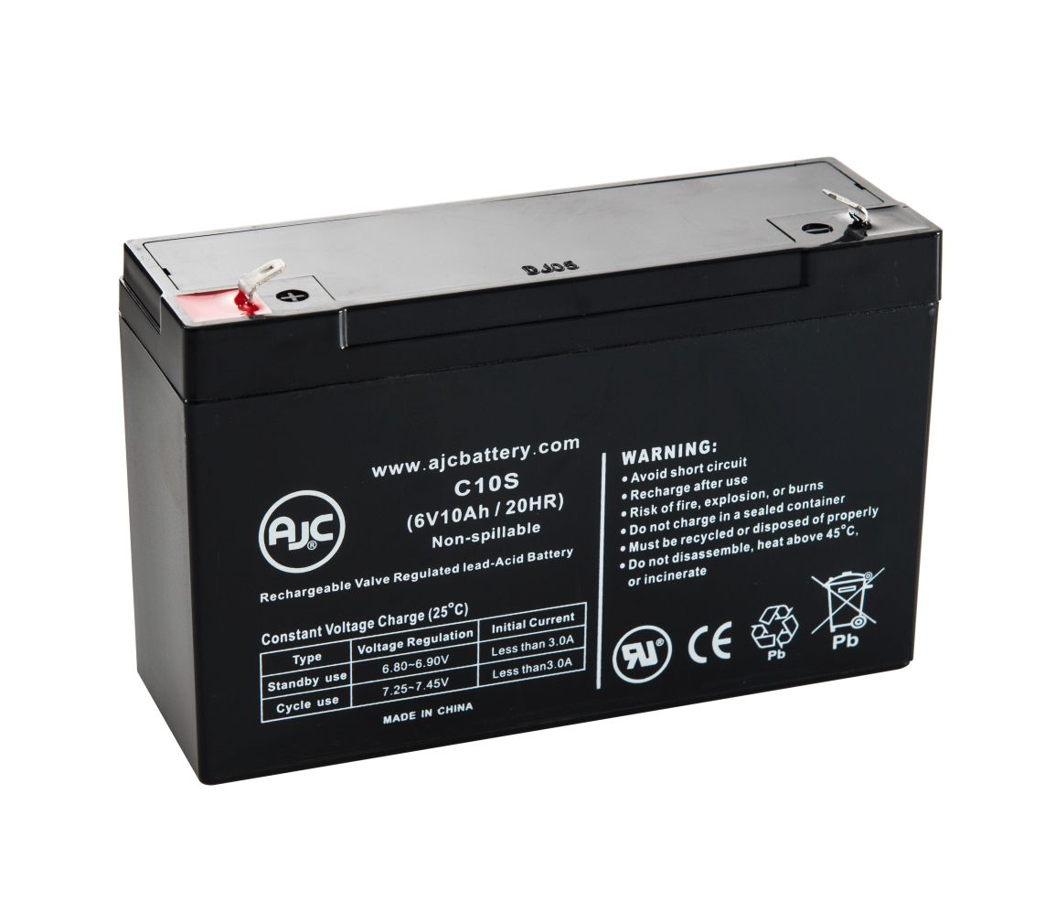 Datex Modulus 2 Plus 6V 10Ah Medical Battery This is an AJC Brand Replacement by AJC Battery