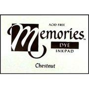 S Superior Memories Dye Inkpad Lg Chestnut