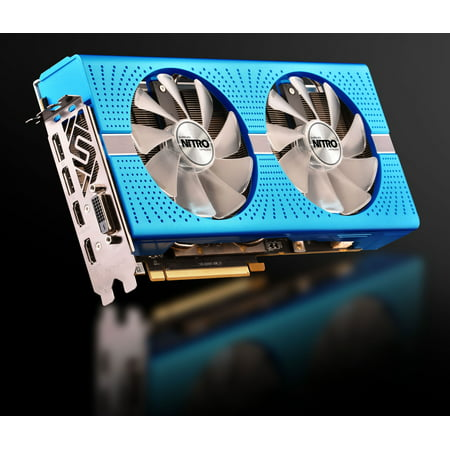Sapphire Radeon NITRO+ RX 590 8GB GDDR5 PCI-E Dual HDMI / DVI-D / Dual DP OC w/ Backplate SPECIAL EDITION (UEFI), 100415NT+8GSEL