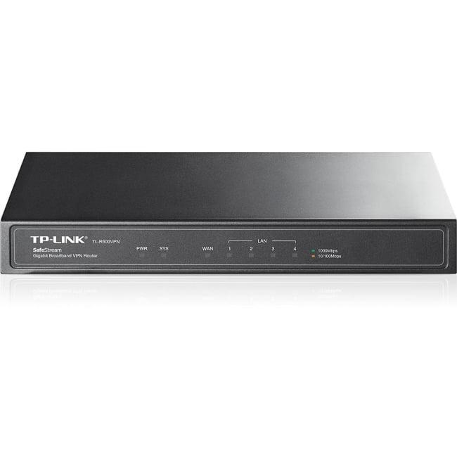 TP-Link TL-R600VPN SafeStream Gigabit Broadband VPN Router by Global Marketing