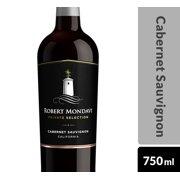 Robert Mondavi Private Selection Cabernet Sauvignon, Red Wine, 750 mL Bottle