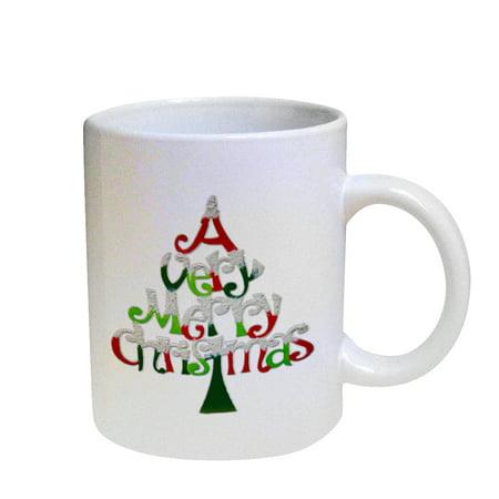 KuzmarK Coffee Cup Mug Pearl Iridescent White - A Very Merry (Very 30 Off)