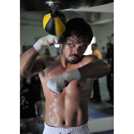 Manny Pacquiao 11inx17in Mini Poster Speedbag in Mail/storage/gift - Manny Pacquiao Costume