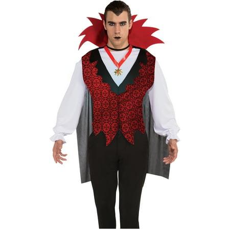 Vampire Mens Halloween Costume - Walmart.com