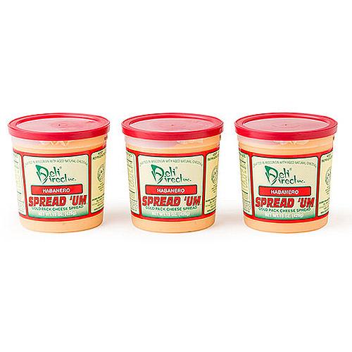 Deli Direct Spread 'Um Habanero Cheese Spread, 45 oz