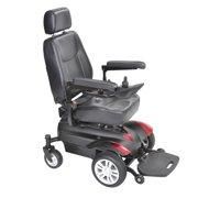 Drive Medical Titan X23 Front Wheel Power Wheelchair, Full Back Captain's Seat